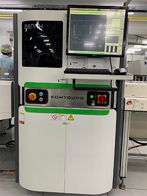 3D Appearance Inspection Machine (AOI)