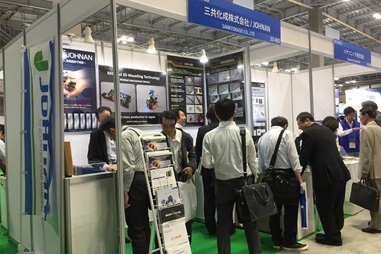 第48回国際電子回路産業展の様子