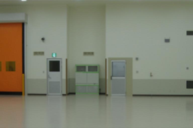 量産工場(岡山県津山市)
