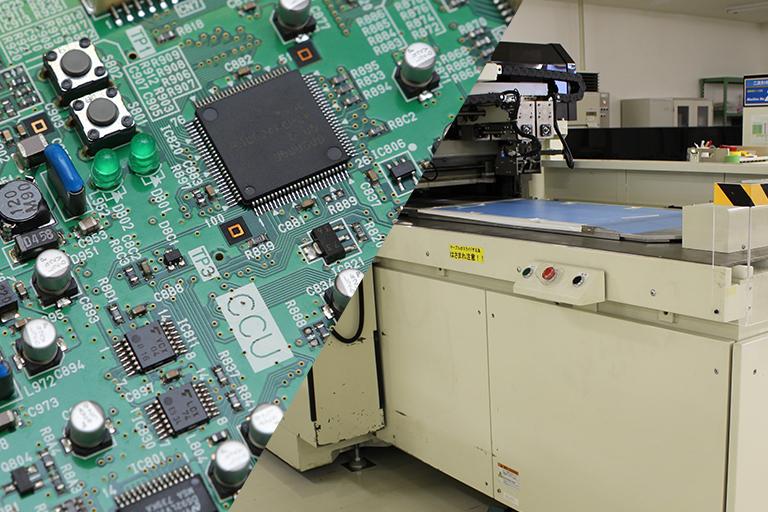 電子部品・機器、フィルム加工の開発・試作・製造