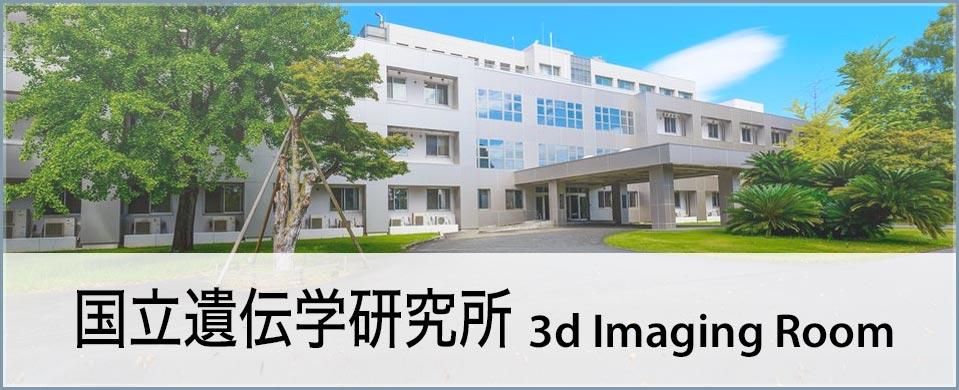 国立遺伝学研究所 3d Imaging Room