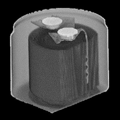 コンデンサのX線CT撮影画像2