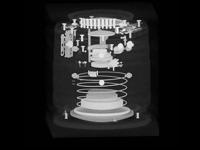 カメラレンズの内部構造を動画でアピールしたい。