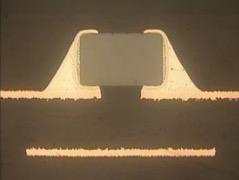 0201コンデンサ内蔵半導体サブストレート(共同開発案件)