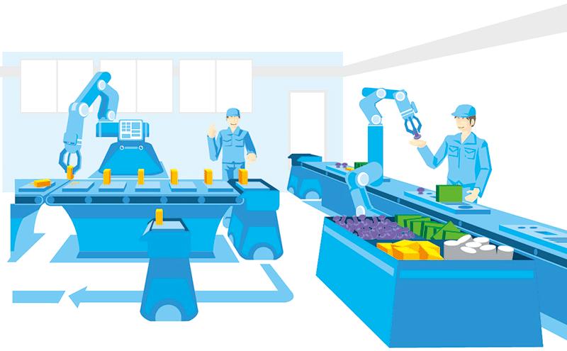 ロボットを活用した自動化・知能化技術