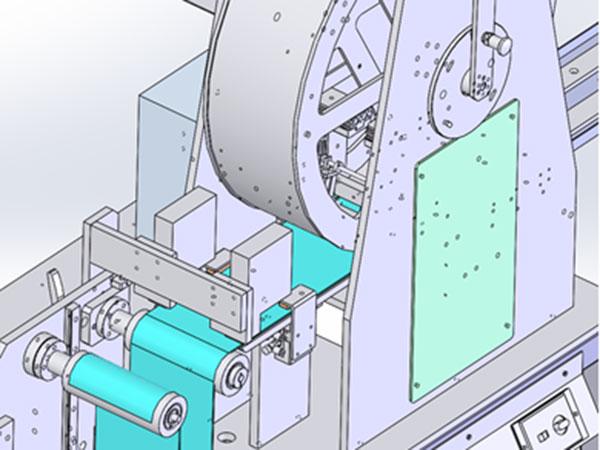 薄帯積層原理検証機(電子関連)