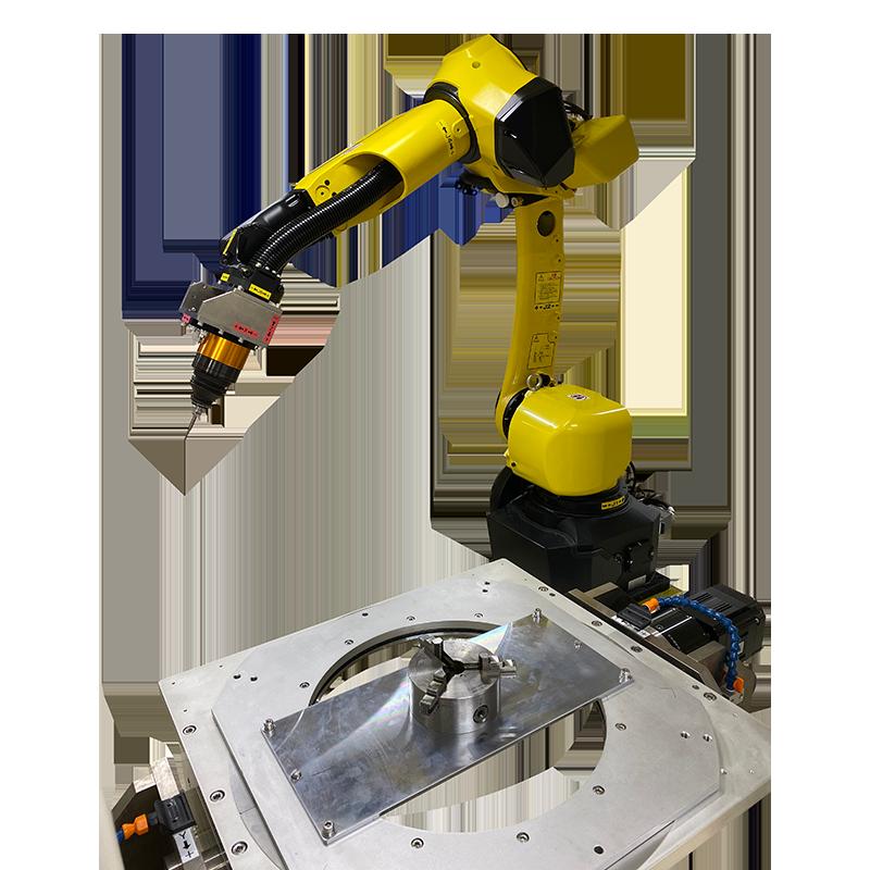 バリ取りロボットシステム 機械