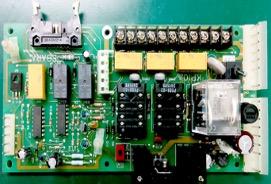 ポンプ制御基板の修理