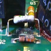 溶接用ロボットのサーボアンプの修理