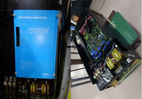 富士電機 インバーター FRENIC 5000V2(TYPE:FSD-37AR-23)修理