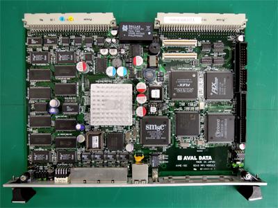 AVAL DATA製 AVME-182 CPU MODULE 基板修理