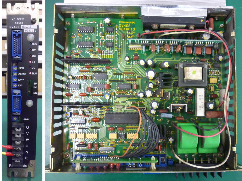 パナソニック製 ACサーボドライバー(DV40S033LD1E)の修理