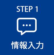STEP1 お問い合わせ