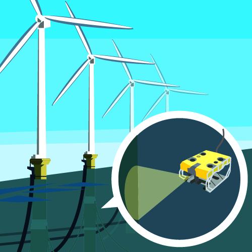 課題解決例:「洋上風力発電」