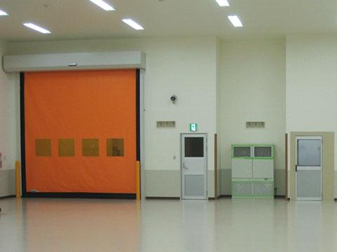 商品開発拠点 津山工場(岡山県津山市)・クリーンルーム