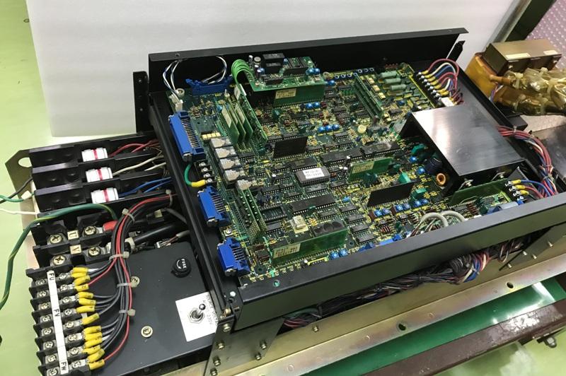 サーボ制御の基板修理